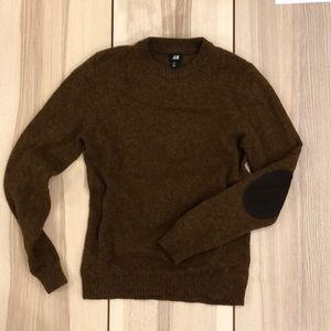 H&M Elbow Patch Sweater